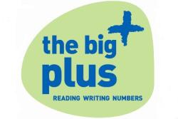 the big plus, literacy, reading, writing and numbers