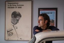 Dario Franchitti at the Jim Clark Motorsport Museum