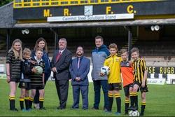 launch of the 3G community sports pitch project