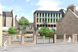 Proposed view of Hawick Business Incubator centre