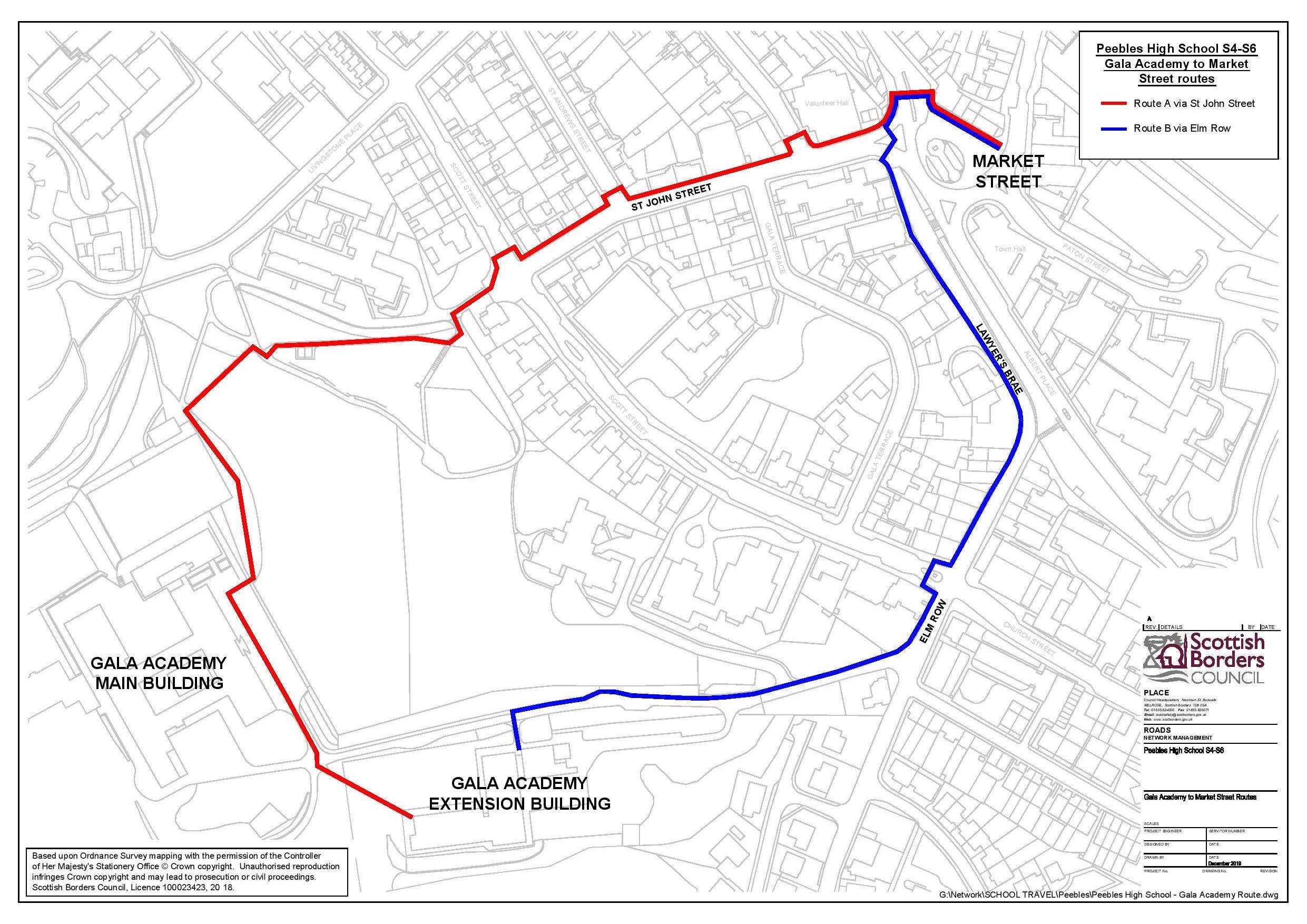 PHS S4-S6 walking routes