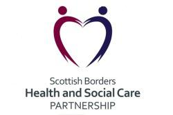 Scottish Borders Health and social care integration, illustration two coloured lines forming a heart