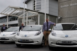 New electric vehicles for Council and Live Borders