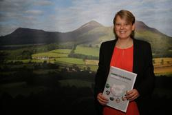 Councillor Leader Shona Haslam launched the Adminstration's vision for the next five year - Connected Borders