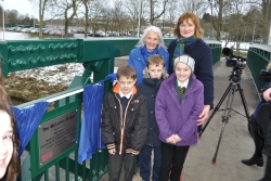 Bridge opening Bill McLaren Wilton Lodge Park