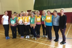 Walking netball classes in Peebles