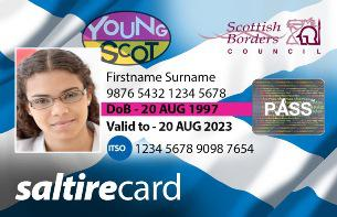 New Young Scot card